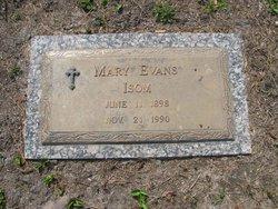 Mary <i>Evans</i> Isom