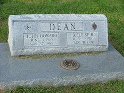 B Eloise Dean