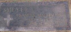 Frances Magdalen Madge <i>Schnitzer</i> Lipsmeyer