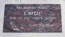 Ann Jeanette Jeanie Curtis