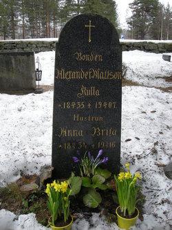 Anna Brita Andersdotter <i>Bj�rndahl</i> Kulla