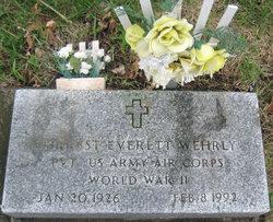 Forrest Everett Wehrly