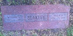 Villa W <i>Darnell</i> Blakley