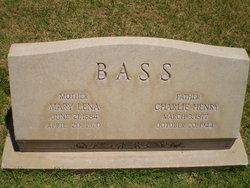 Mary Lena <i>Prince</i> Bass
