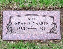 Adah B. Cabble