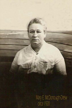 Mary Elizabeth <i>McDonough</i> Drew