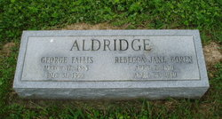 Rebecca Jane <i>Boren</i> Aldridge