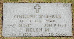 Vincent W Baker