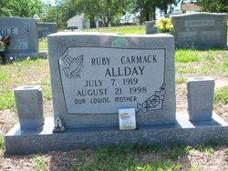 Ruby Hagood <i>Carmack</i> Allday