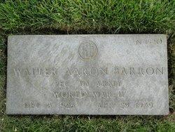 Walter Aaron Barron