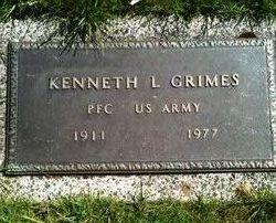 PFC Kenneth L. Grimes