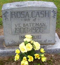 Rosa N. <i>Cash</i> Bateman