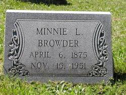 Minnie L. <i>Casey</i> Browder