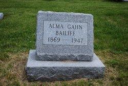 Alma <i>Gahn</i> Bailiff