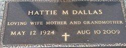 Hattie M Dallas