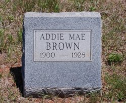 Addie Alice <i>Hale</i> Brown