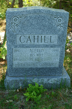 Ruth Howe <i>Coolidge</i> Cahill