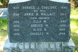 Annie <i>Wallace</i> Coolidge