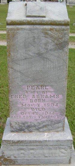 Pearl Susie <i>Shaw</i> Abrams