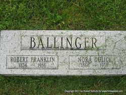 Nora <i>Gulick</i> Ballinger