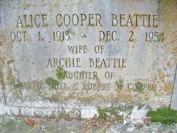 Alice <i>Cooper</i> Beattie
