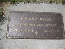Vivian E <i>Glines</i> Baker