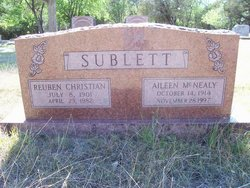 Aileen <i>McNealy</i> Sublett