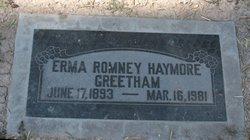 Erma Romney <i>Haymore</i> Greetham