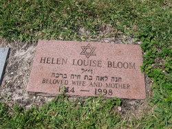 Helen Louise Bloom