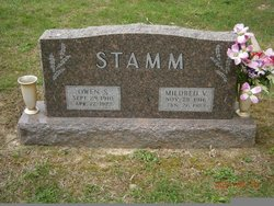 Mildred Virginia <i>Newman</i> Stamm