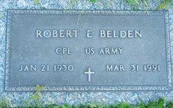 Corp Robert E Belden