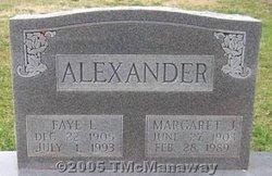 Margaret J. Alexander