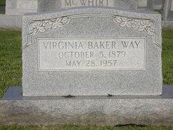 Virginia <i>Baker</i> Way
