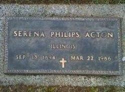 Serena Philips Acton