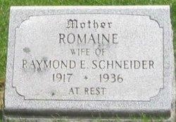 Romaine <i>Stevens</i> Schneider