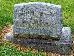 Elizabeth Louisa <i>Stein</i> Bensing