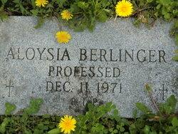 Aloysia Berlinger