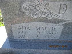 Ada Maude <i>Young</i> Deeds