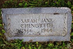Sarah Jane Chenoweth