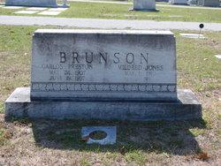 Mildred <i>Jones</i> Brunson
