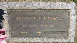 Beatrice B Jackson