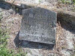 Mary F. Davis