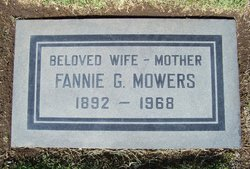 Fannie May Lillian <i>Granville</i> Mowers
