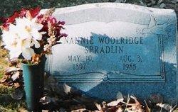 Nannie Elizabeth <i>Woolridge</i> Spradlin