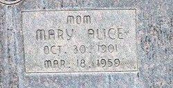 Mary Alice <i>Bennett</i> Kirkman