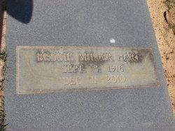 Bessie Miller Hart