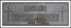 Hazel Mildred <i>Welden</i> Ertler