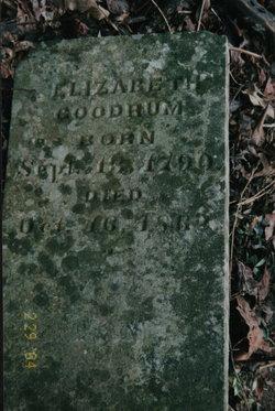 Elizabeth <i>Harmon</i> Goodrum