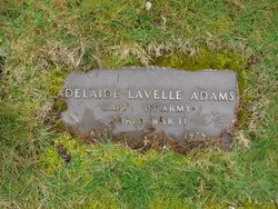 Adelaide Lavelle Addie Adams