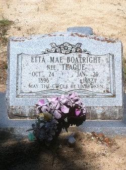 Etta Mae <i>Teague</i> Boatright